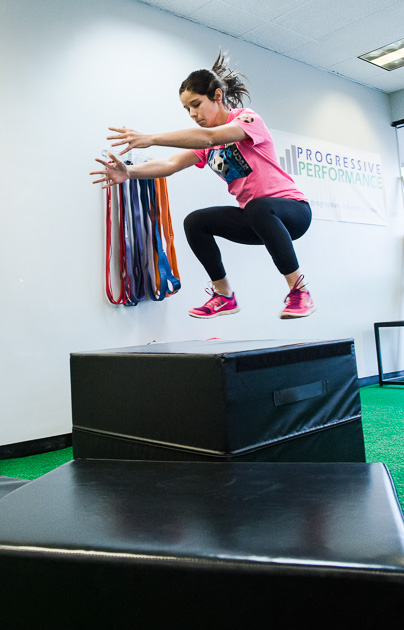 JUMPING PROGRESSIONS FOR A FASTER YOUTH ATHLETE
