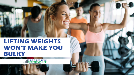 YOU ARE NOT GOING TO GET 'BULKY' SO STOP WORRYING