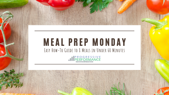 MEAL PREP MONDAY: HOW TO ADD VARIETY TO YOUR MEAL PREP WHILE MAINTAINING SIMPLICITY