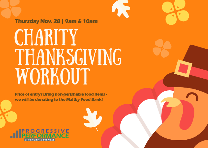 THANKSGIVING CHARITY WORKOUT HISTORY